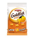 Pepperidge Farm Goldfish Cheddar Crackers 2.25 Ounce Bag - 72 Per Case