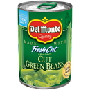 Del Monete Cut Green Beans 14.5 Ounce Can - 24 Cans Per Case