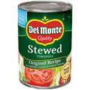 Del Monte Original Recipe Stewed Tomato 14.5 Ounce Can - 24 Per Case