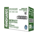 Handgards Naturalfit Powder Free Large Synthetic Glove 100 Per Pack - 4 Per Case