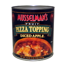 Musselman'S Fruit Pizza Topping Diced Apple 114 Ounce Cans - 6 Per Case