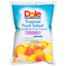 Dole In Fruit Juice Tropical Fruit Salad 81 Ounce Bag - 6 Per Case