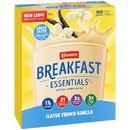 Nestle Carnation French Vanilla Breakfast Essentials Drink Mix 12.6 Ounces - 6 Per Case