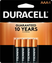 Duracell Ultra Coppertop Aaa 4 Count - 18 Per Pack - 3 Packs Per Case