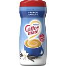 Coffee-Mate French Vanilla Powder Creamer 15 Ounces Per Canister - 6 Per Case