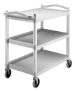 Cambro BC340KD480 Utility Cart Speckled Gray 5 Inch Caster 1-1 Each