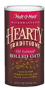 Malt O Meal Hearty Traditional Old Fashioned Oats 42 Ounce Container - 12 Containers Per Case