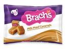 Brachs Laydown Bag Milk Maid Caramels 14 Ounces Per Bag - 12 Per Case