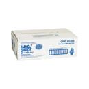 Handgards Quickserve Embossed Cast Straight Cuff Polyethylene Glove 50 Per Pack - 20 Per Case