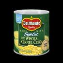 Del Monte Golden Super Sweet Whole Kernel Corn 8.75 Ounce Can - 12 Per Case
