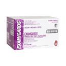 Handgards Exam Gards Powder Free Medium Vinyl Glove 100 Per Pack - 10 Per Case