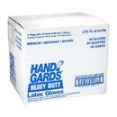 Handgards General Purpose Reusable Yellow Latex Medium Glove 12 Pair Per Pack - 4 Per Case