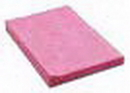 Atlantic Mills 13 Inch X 20 Inch Pink And White Economy Wipe 100 Per Pack - 9 Per Case