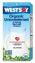 West Soy Unsweetened Plain Soy Milk (O)