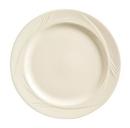 Endurance 6.25 Inch Cream White Medium Rim Plate 36 Per Pack - 1 Per Case