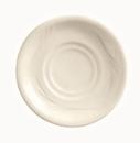 Endurance 5 Inch Cream White Medium Rim Saucer 36 Per Pack - 1 Per Case