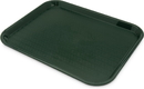 Carlisle CT141808 Tray Cafe 18X14 Forest Green 1-12 Each