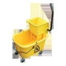 O-Cedar Yellow 32 Quart Mop Bucket & Wringer 1 Unit - 1 Per Case