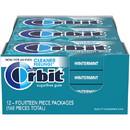 Orbit Winter Mint Gum 14 Pieces - 12 Per Pack - 12 Packs Per Case