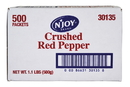 N'Joy Crushed Red Pepper 1 Gram - 500 Per Case