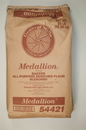 Gold Medal Medallion Bakers All Purpose Enriched Bleached Flour 50 Pounds Per Pack - 1 Per Case