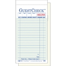 Guest Check 2 Part Carbonless 17X13 Liner 1-2500 Each
