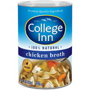 College Inn 2001206 College Inn 99% Fat Free Chicken Broth 24/14.5 oz. Can