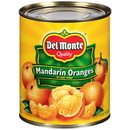 Del Monte In Light Syrup Mandarin Orange 29 Ounce Can - 12 Per Case