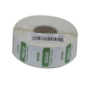 National Checking 1 Inch X 1 Inch Trilingual Green Friday Permanent Label 1000 Per Roll - 1 Per Case