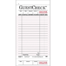 National Checking 3.5 Inch X 6.75 Inch 1 Part Pink 18 Line Guest Check 50 Per Book - 10 Per Pack - 5 Per Case