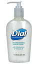 Dial Antimicrobial With Moisturizers Liquid Hand Soap Pump 7.5 Ounce- 12 Per Case