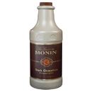 Monin Dark Chocolate Sauce 64 Ounces - 4 Per Case