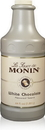 Monin White Chocolate Sauce 64 Ounce Bottle - 4 Per Case