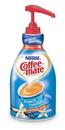 Coffee-Mate French Vanilla Pump Concentrate Liquid Creamer 50.7 Ounces Per Bottle - 2 Per Case