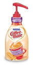 Coffee-Mate Sweetened Original Pump Concentrate Liquid Creamer 50.7 Ounces Per Bottle - 2 Per Case
