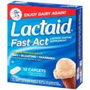 Lactaid 8091012 Fast Action Caplets 12-3-12 Count