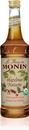 Monin Organic Hazelnut Syrup 750 Milliliter Bottle - 6 Per Case