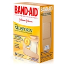 Band-Aid Assorted Sizes Infection Defense With Neosporin 20 Per Pack - 6 Per Box - 4 Per Case