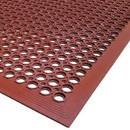 Floor Mat Rubber 3X5 Vip Topdeck Jr Red 1-1 Count