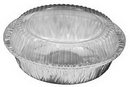 Handi-Foil 7 Inch Aluminum Round Pan With Dome Lid Combo 250 Per Pack - 1 Per Case