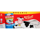 Horizon Organic 1% Reduced Fat Single Serve Aseptic Milk 8 Fluid Ounce Box - 18 Per Case