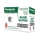 Handgards Aloe Powder Free Medium Synthetic Gloves 100 Per Pack - 4 Per Case
