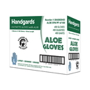 Handgards Aloe Powder Free Large Synthetic Gloves 100 Per Pack - 4 Per Case