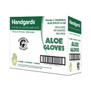 Handgards Aloe Powder Free Extra Large Synthetic Gloves 100 Per Pack - 4 Per Case
