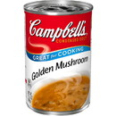 Campbell's 000017961 Campbell's Condensed Soup Red & White Golden Mushroom 10.5 ounce Can 12 Per Case