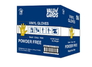 Valugards Vinyl Valugard Powder Free Small Glove 100 Per Box - 10 Boxes Per Case