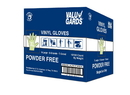 Valugards Extra Large Powder Free Vinyl Glove 1000 Gloves - 10 Per Case