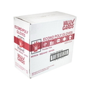 Valugards Poly Medium Glove 500 Per Box - 4 Boxes Per Case