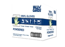 Hgi Powdered Extra Large Vinyl Glove 1000 Per Pack - 10 Packs Per Case