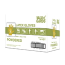 Handgards Valugards Latex Powdered Small Glove 100 Per Pack - 10 Per Case